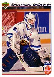 1991-92 Upper Deck French #23 Markus Ketterer RC CC