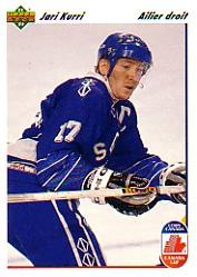 1991-92 Upper Deck French #24 Jari Kurri CC