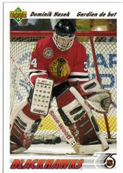 1991-92 Upper Deck French #335 Dominik Hasek RC