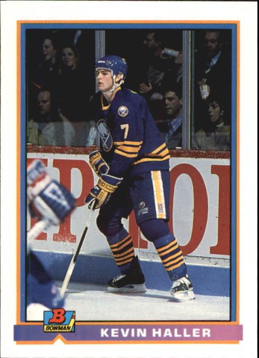 1991-92 Bowman #28 Kevin Haller RC