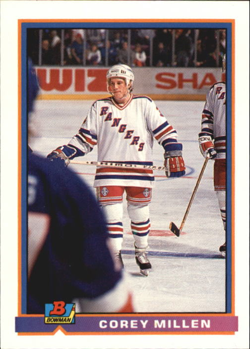 1991-92 Bowman #60 Corey Millen RC