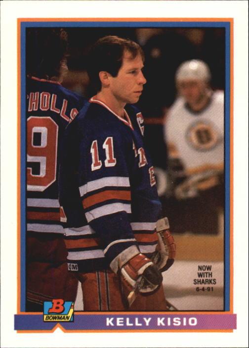 1991-92 Bowman #72 Kelly Kisio