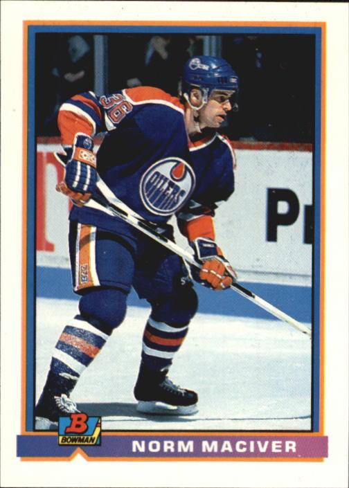 1991-92 Bowman #99 Norm Maciver RC