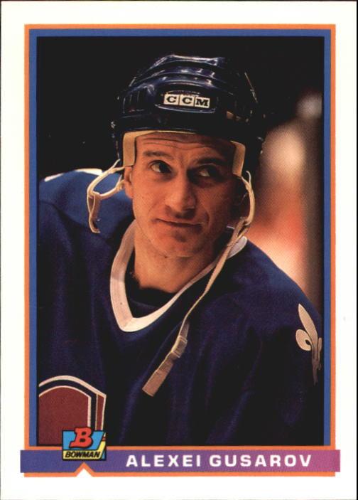 1991-92 Bowman #145 Alexei Gusarov RC
