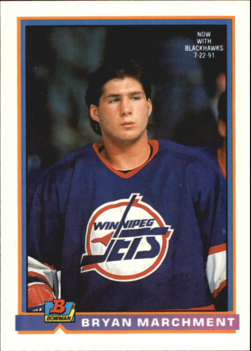 1991-92 Bowman #208 Bryan Marchment RC