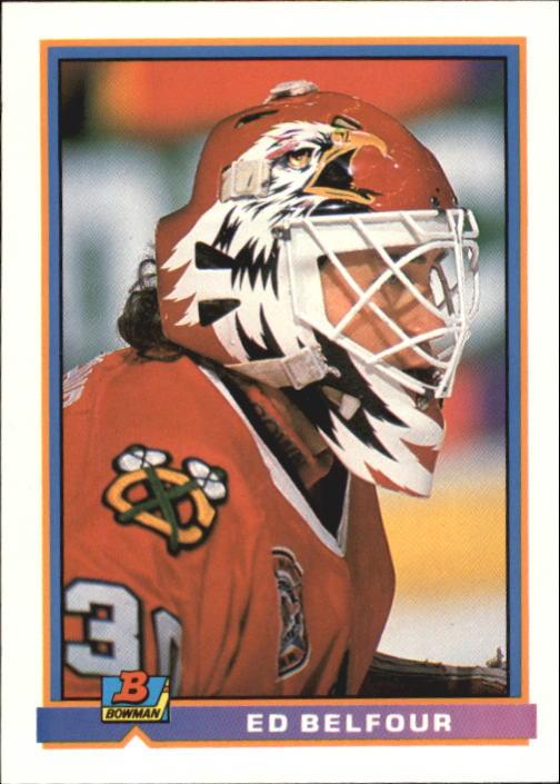 1991-92 Bowman #390 Ed Belfour