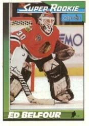 1991-92 O-Pee-Chee #4 Ed Belfour SR