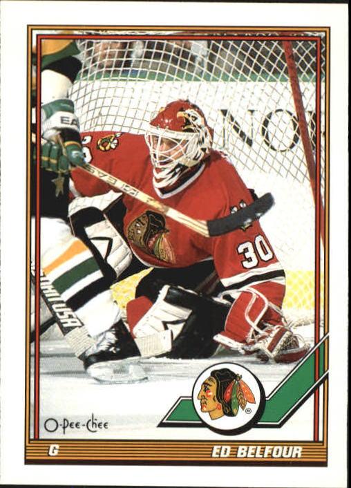 1991-92 O-Pee-Chee #20 Ed Belfour