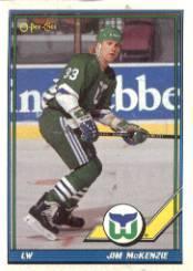 1991-92 O-Pee-Chee #24 Jim McKenzie RC