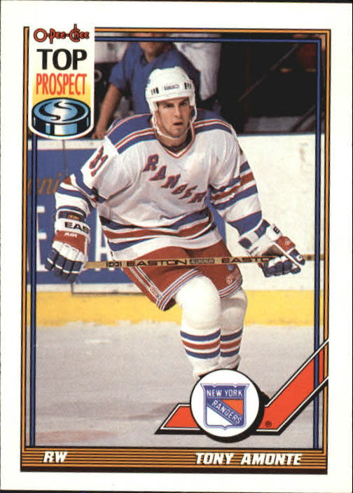1991-92 O-Pee-Chee #26 Tony Amonte RC