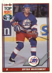 1991-92 O-Pee-Chee #116 Bryan Marchment RC