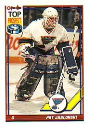 1991-92 O-Pee-Chee #246 Pat Jablonski RC