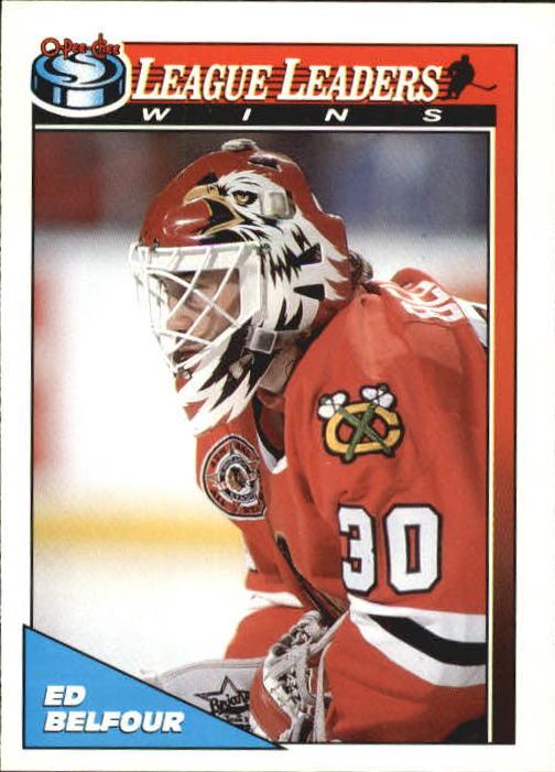 1991-92 O-Pee-Chee #271 Ed Belfour LL