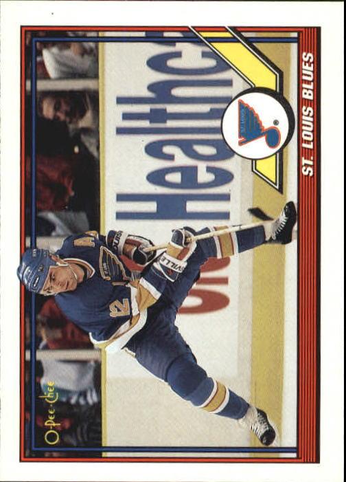 1991-92 O-Pee-Chee #347 Blues Team