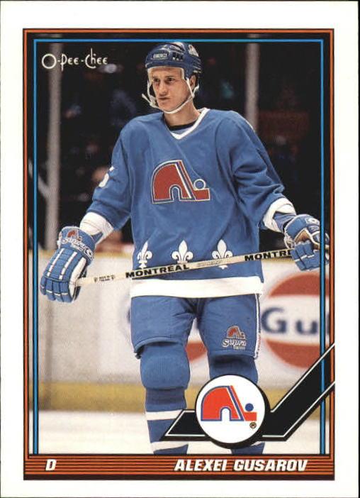 1991-92 O-Pee-Chee #355 Alexei Gusarov RC