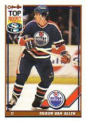 1991-92 O-Pee-Chee #414 Shaun Van Allen RC