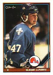 1991-92 O-Pee-Chee #431 Claude Lapointe RC