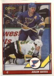 1991-92 O-Pee-Chee #448 Adam Oates