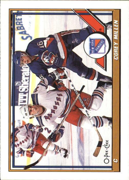 1991-92 O-Pee-Chee #461 Corey Millen RC