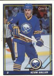 1991-92 O-Pee-Chee #473 Kevin Haller RC