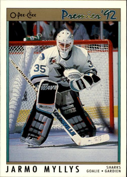 1991-92 OPC Premier #15 Jarmo Myllys