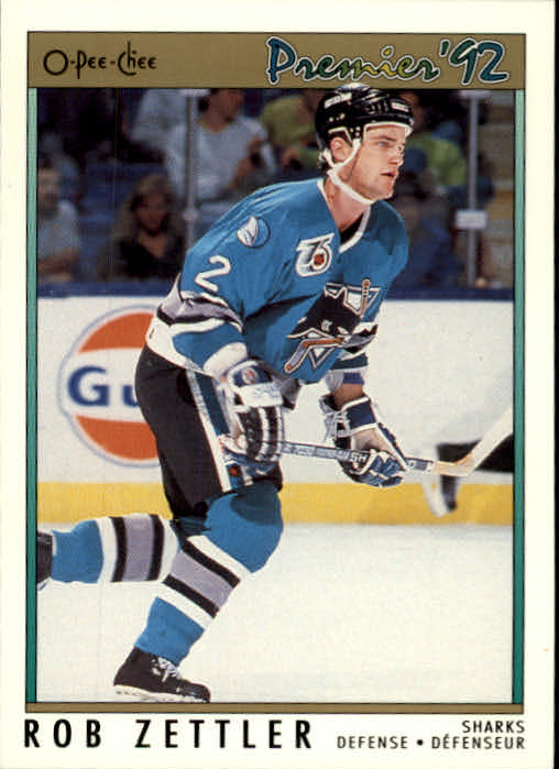 1991-92 OPC Premier #21 Rob Zettler