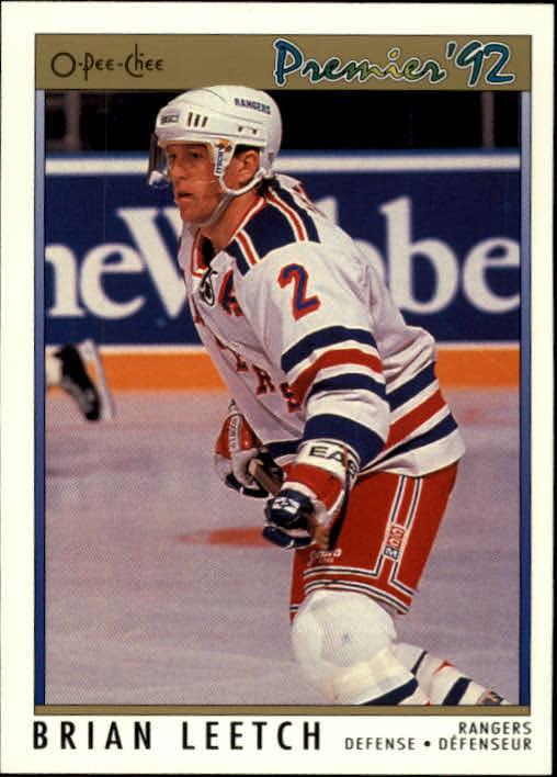 1991-92 OPC Premier #57 Brian Leetch