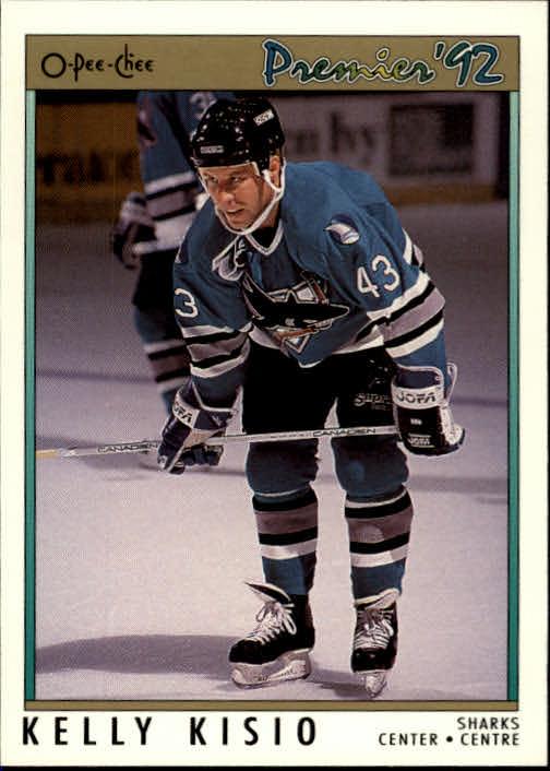 1991-92 OPC Premier #69 Kelly Kisio