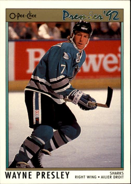 1991-92 OPC Premier #89 Wayne Presley