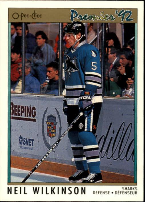 1991-92 OPC Premier #110 Neil Wilkinson