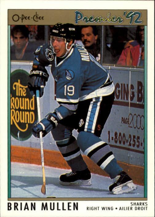 1991-92 OPC Premier #166 Brian Mullen