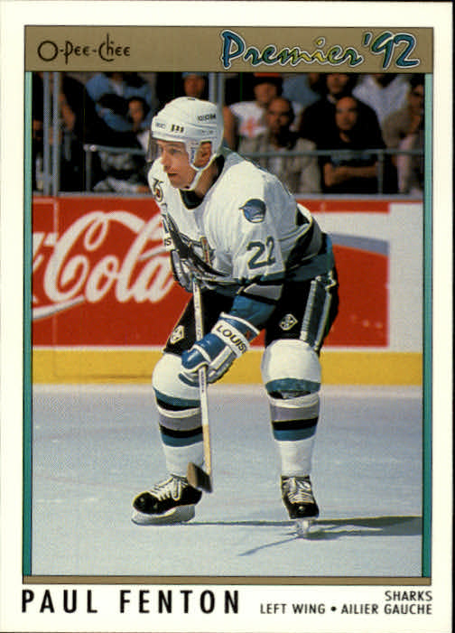 1991-92 OPC Premier #187 Paul Fenton
