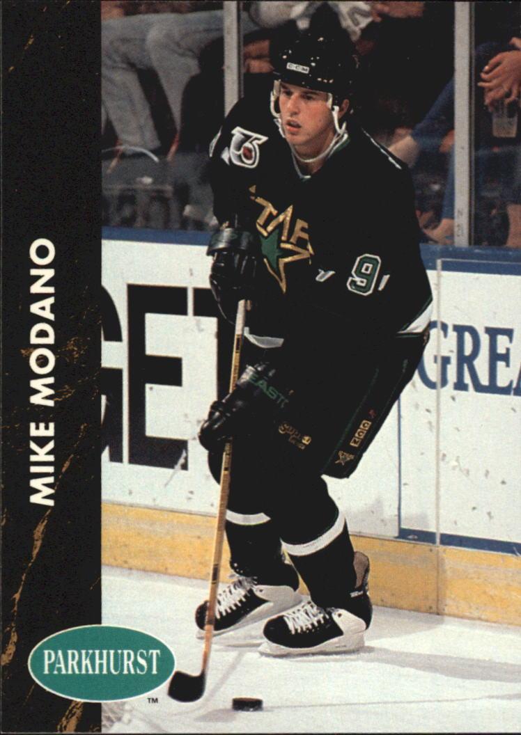 1991-92 Parkhurst #81 Mike Modano