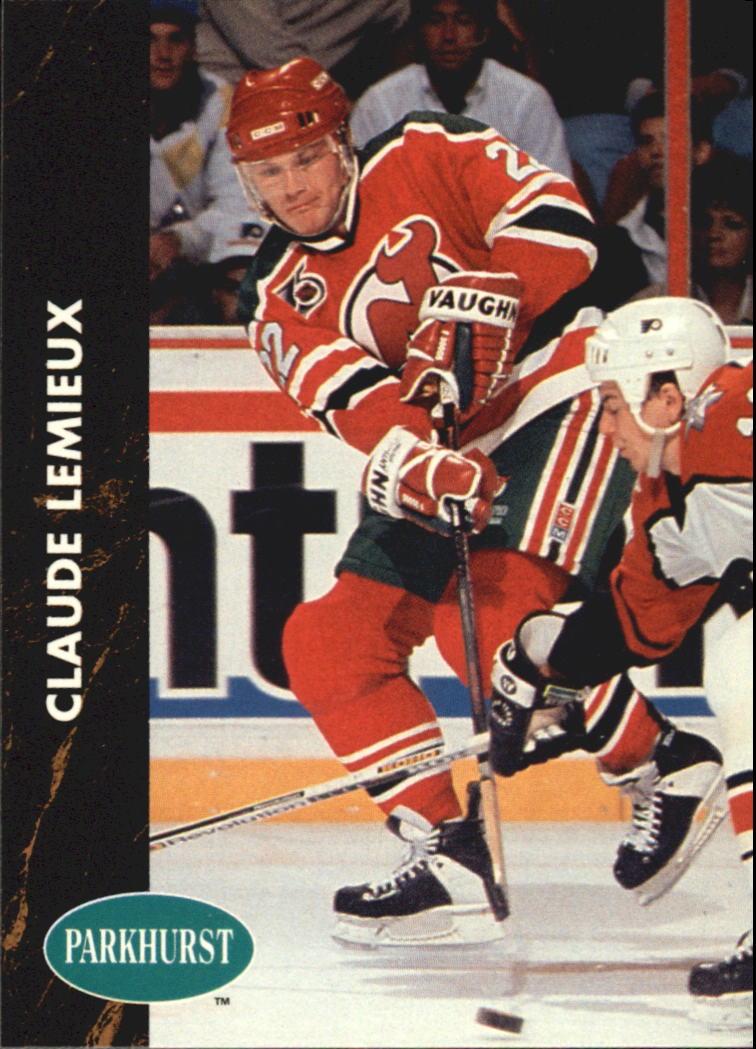 1991-92 Parkhurst #101 Claude Lemieux