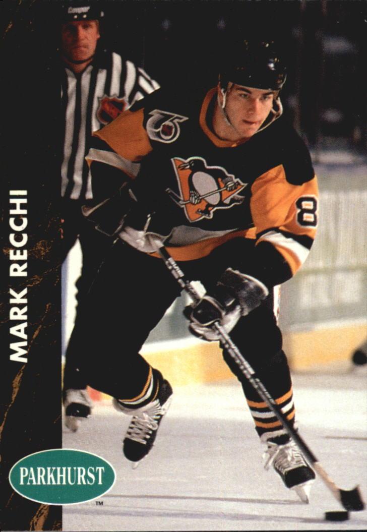 1991-92 Parkhurst #134 Mark Recchi