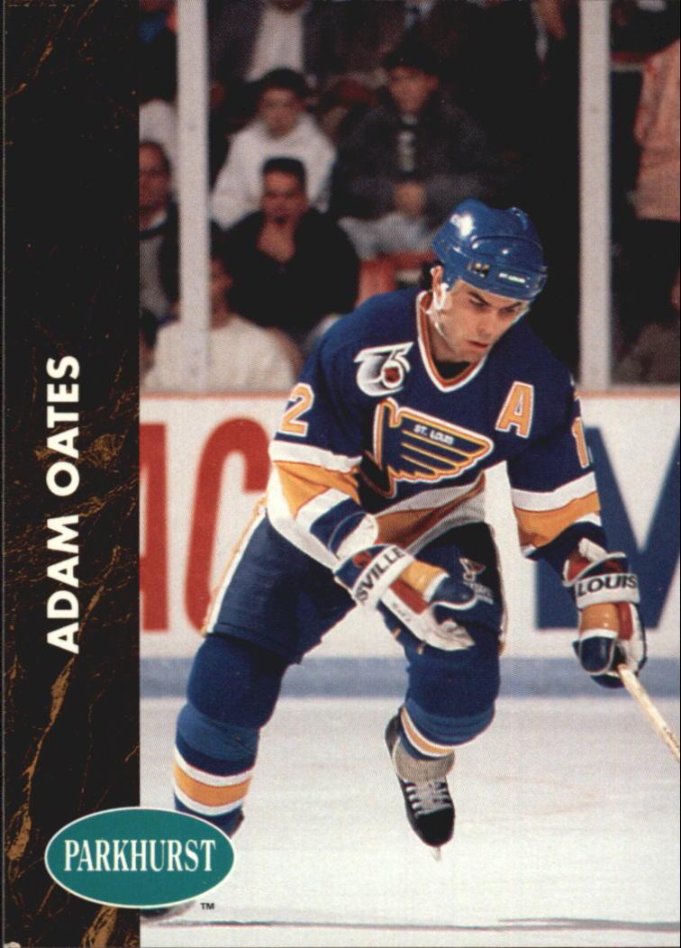 1991-92 Parkhurst #155 Adam Oates