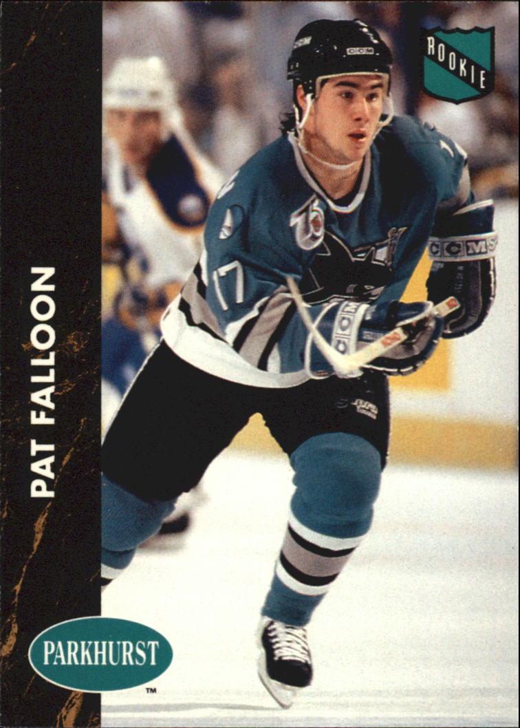 1991-92 Parkhurst #160 Pat Falloon