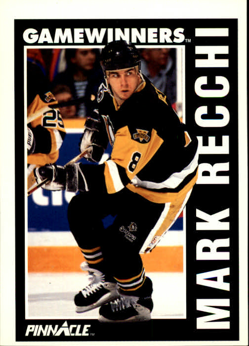 1991-92 Pinnacle #360 Mark Recchi GW