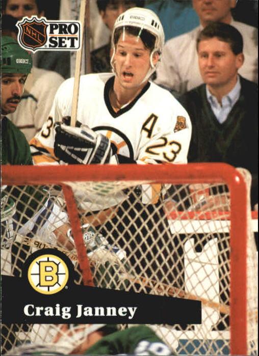 1991-92 Pro Set #2 Craig Janney