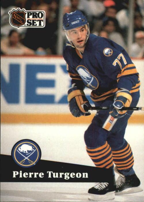 1991-92 Pro Set #15 Pierre Turgeon UER