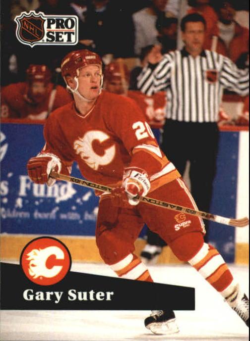 1991-92 Pro Set #32 Gary Suter