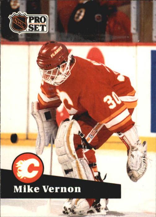 1991-92 Pro Set #35 Mike Vernon