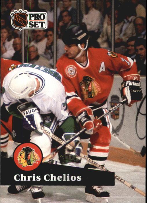 1991-92 Pro Set #48 Chris Chelios