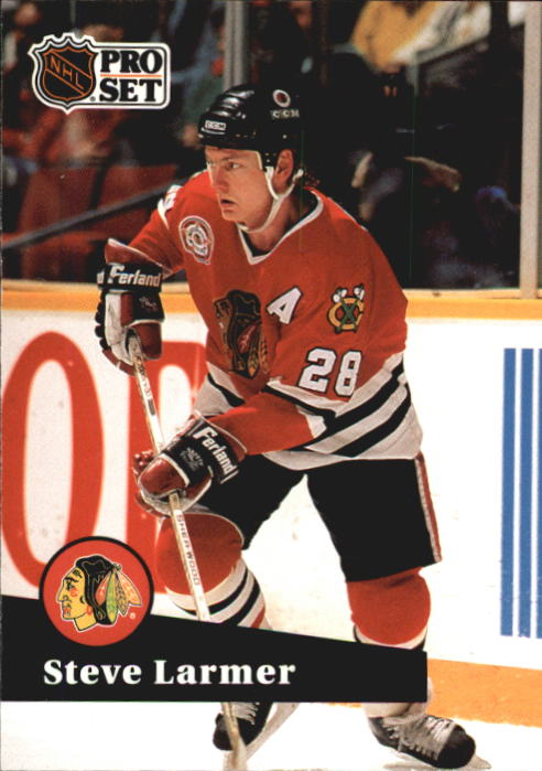 1991-92 Pro Set #49 Steve Larmer