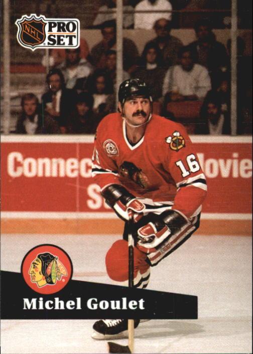 1991-92 Pro Set #50 Michel Goulet