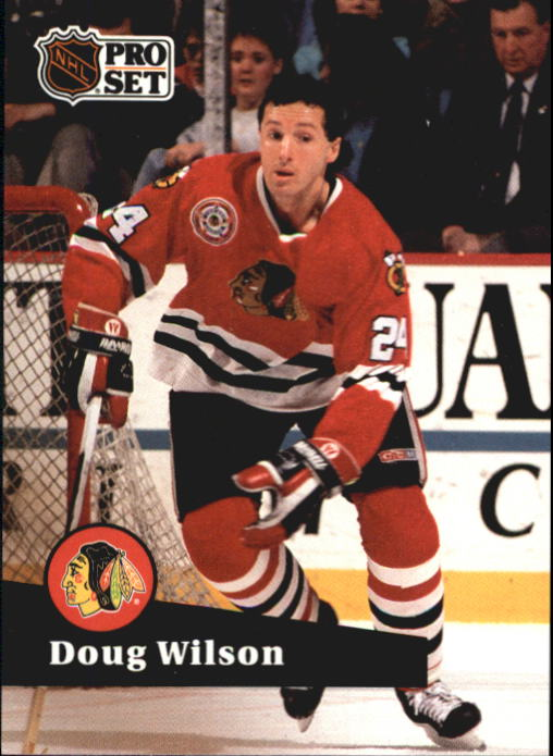 1991-92 Pro Set #52 Doug Wilson
