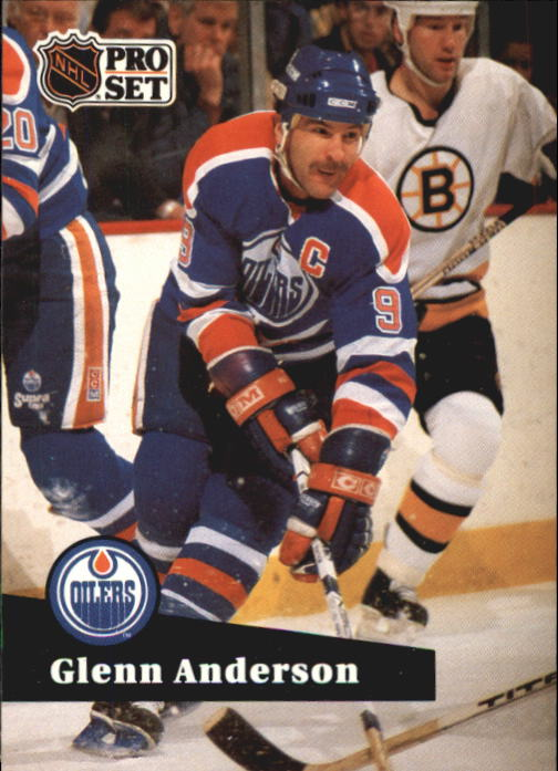 1991-92 Pro Set #75 Glenn Anderson