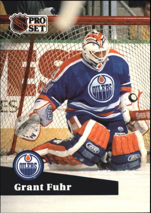 1991-92 Pro Set #78 Grant Fuhr