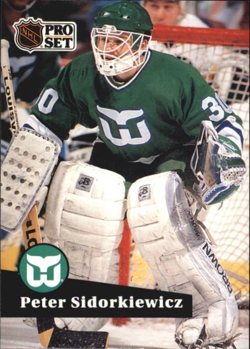 1991-92 Pro Set #90 Peter Sidorkiewicz