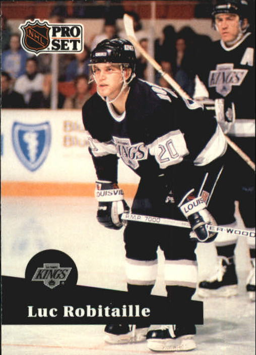 1991-92 Pro Set #95 Luc Robitaille